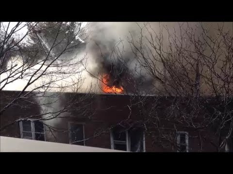 New Rochelle Fire Department Intense 3rd Alarm Fire With Mutual Aid From Neighboring Towns