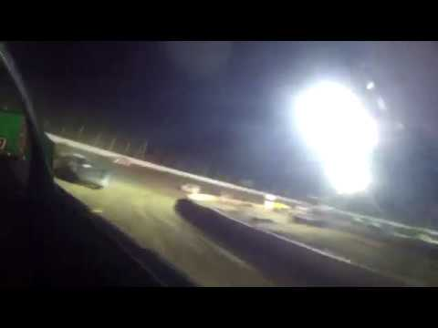 8/17/2018 Black Hills Speedway main event (in car rear view)