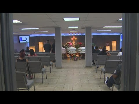 Funeral services held for family killed in their SW Houston home