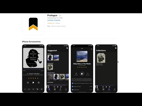 App Tip: Prologue An Audiobook App For Plex Servers And IOS!