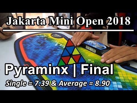 Pyraminx | Final (7.39 Single & 8.90 Average) Jakarta Mini Open 2018 [Dandy Meyrizal]