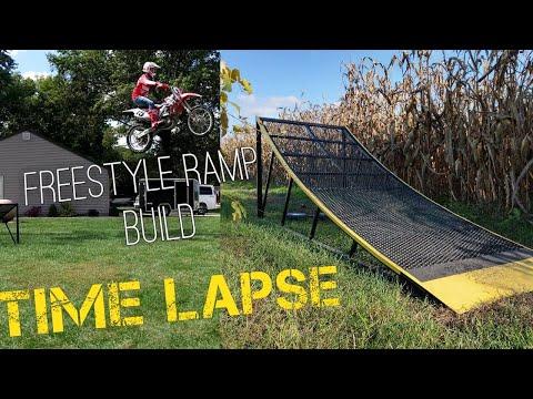 Freestyle ramp build