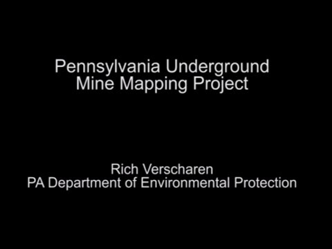 EnerGIS Conference 2013 - Pennsylvania Underground Mine Mapping Project - Rich Verscharen