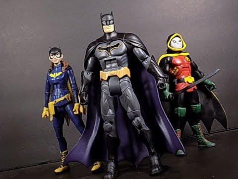 DC COMICS MULTIVERSE REBIRTH BATMAN ACTION FIGURE SHOWCASE REVIEW