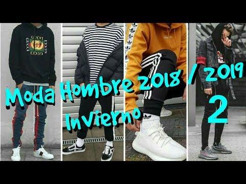 MODA HOMBRE INVIERNO 2018/2019 (TENDENCIAS) (Parte 2)