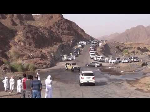 Arab youngsters drifting cars near Hatta (UAE).