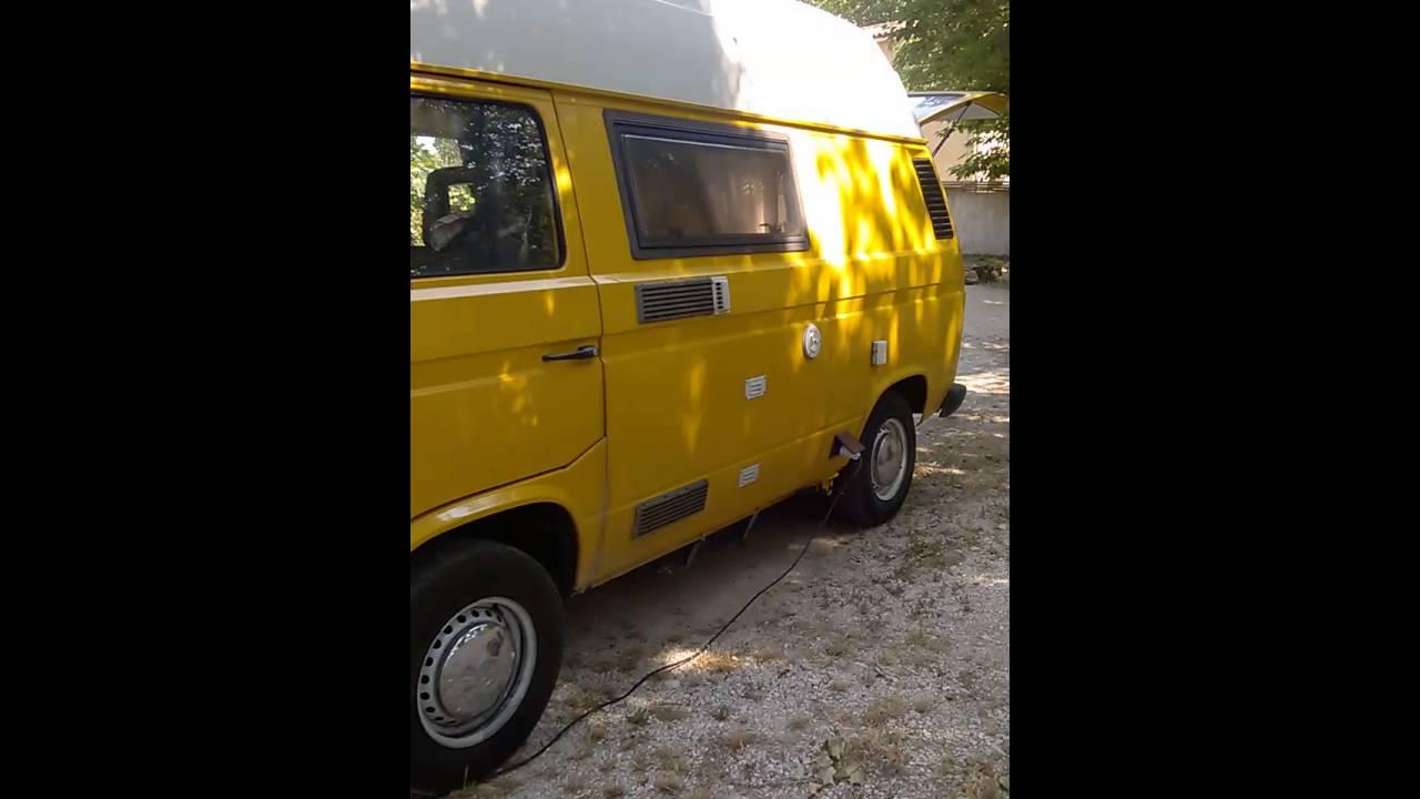Fabuleux Mon VW T3 FOURGON AMENAGE CAMPING - YouTube ZK76