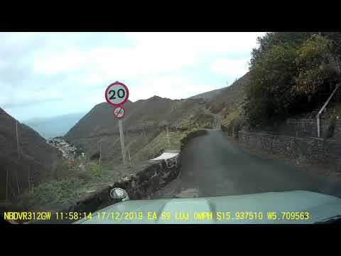 Drive from Longwood Gate to Jamestown Seaside on St Helena