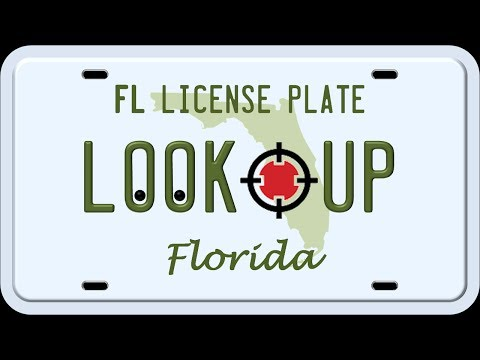 How to Search a Florida License Plate Number