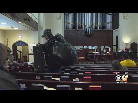 Dallas Church Opening Doors To Homeless During Bitter Cold