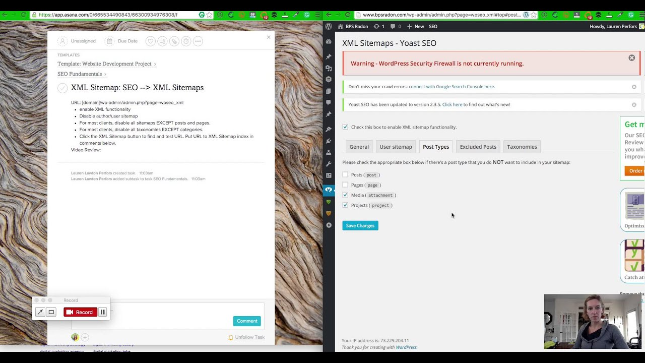 how to set up xml sitemaps in wordpress website for small business