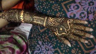 2016 New Pakistani Henna Mehendi Full Hand Step By StepCreative Intricate Mehndi Designs For Hands