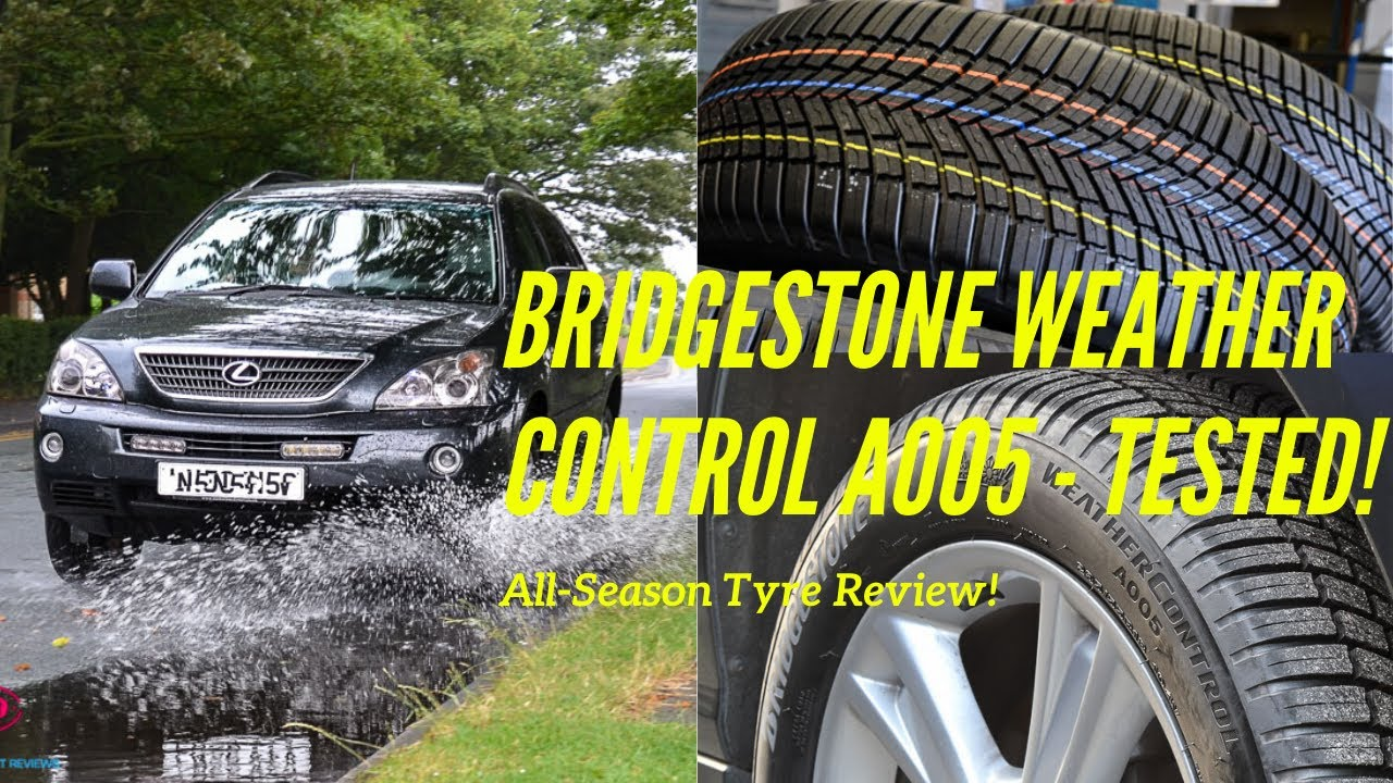 bridgestone weather control a005 all season tyre review wet weather test youtube. Black Bedroom Furniture Sets. Home Design Ideas