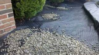 Stone Scaping With Gravel-lok