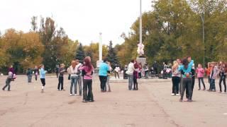 Флешмоб 14.10.2012 г. Рубежное. Смотреть в 1080р !!!