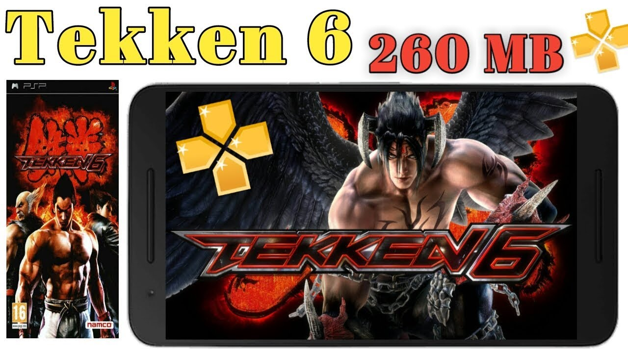 Tekken 6 highly compressed free download for android