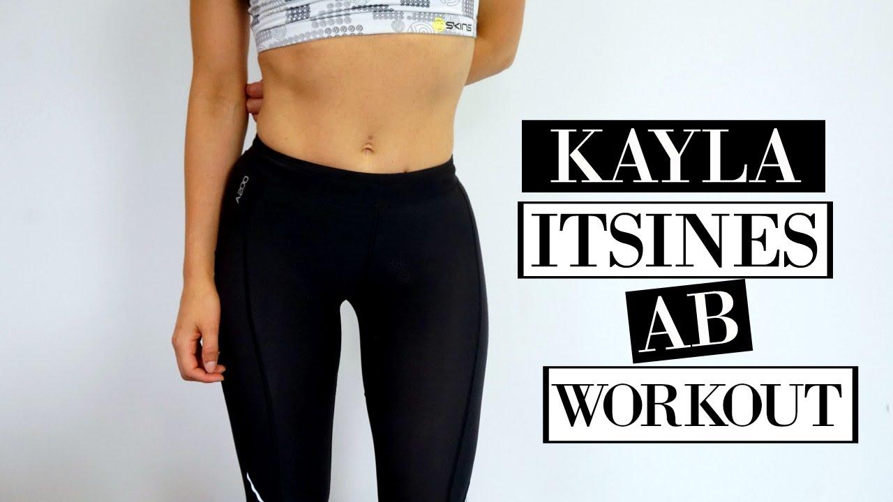 Body Inspired Bikini Itsines AbsAt Home Kayla Guide Workout b76Yfgy
