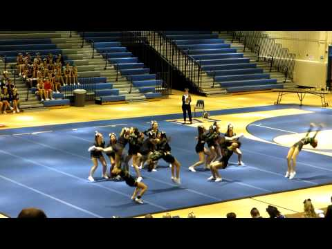 Langley High School JV Cheerleading 2012