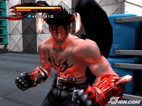 Tekken 5 Unforgiven 2nd Theme Of Devil Jin Youtube