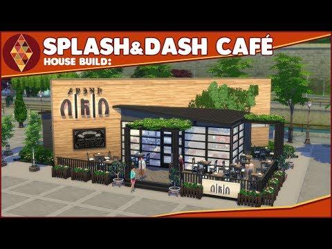 The Sims 4 - House Build - Splash & Dash Laundry Café | HD