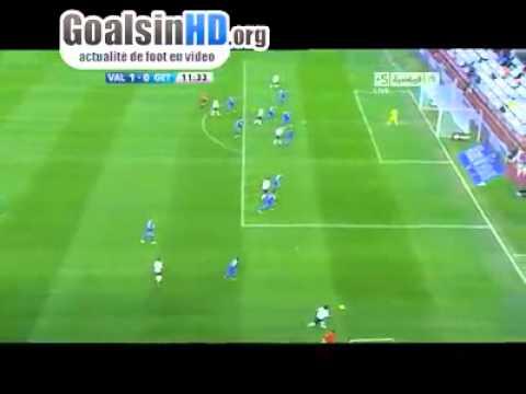 Premier but de Sofiane Feghouli contre Getafe