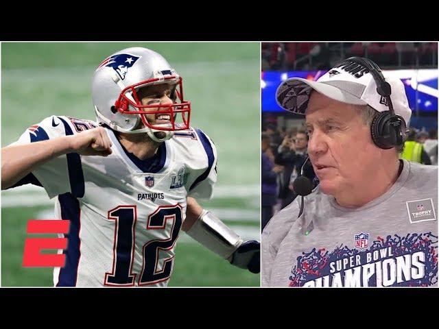 Bill Belichick praises Tom Brady and explains how Patriots defense silenced Rams   Super Bowl LIII
