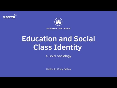 Education and Social Class Identity