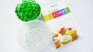 Orbeez mit Lebensmittelfarbe färben | Orbeez Perlen | Badekugeln