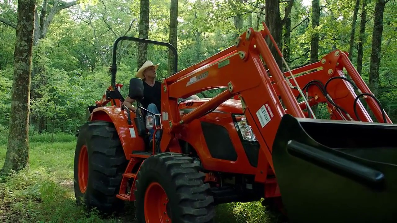 Trace Adkins and his Experience with Kioti Tractors