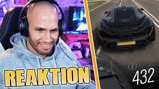 Flying Uwe REAGIERT auf McLAREN P1 Fahrer in FORZA😲 | Flying Uwe Reaktion
