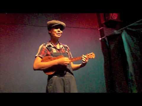 Kitty Chow performing Chocolate Jesus on Ukulele - YouTube