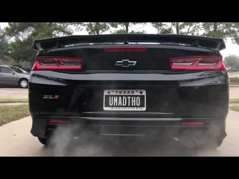 2017 Chevy Camaro ZL1 Cam, Headers Sound   GM Authority