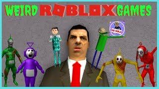 WEIRDEST ROBLOX GAMES - Mr Bean + Billy's Basics RP - Episode 1