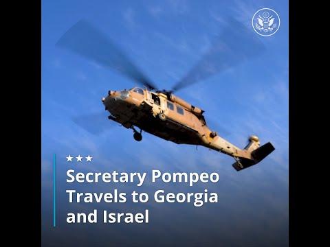 Secretary Pompeo Travels To Georgia And Israel