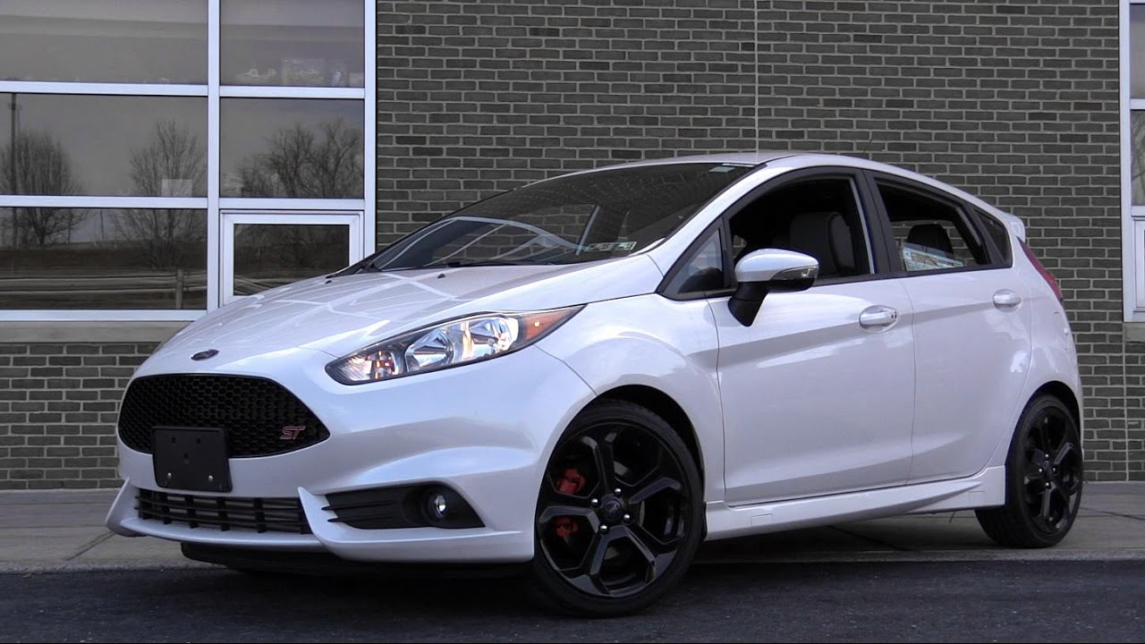 2017 Ford Fiesta St Review Youtube