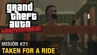 GTA Liberty City Stories - Misión #21 - Taken for a Ride (Español / Sin Comentario - PCSX2)