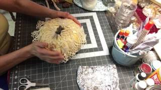 Designing Crafts with Style by Chari - Pumpkin Tutorial Part-1