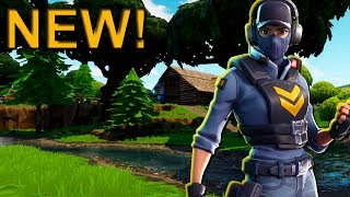 The New WAYPOINT Skin Gameplay in Fortnite! No Commentary..