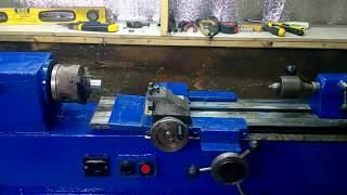 видео Токарный станок Р105 по металлу
