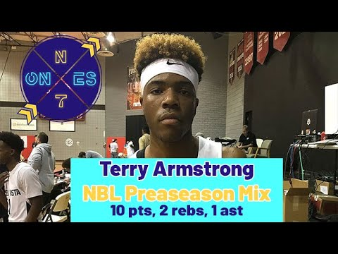 Terry Armstrong SouthEast Melbourne Pre Season Highlights | Australian NBL | Bella Vista Star!