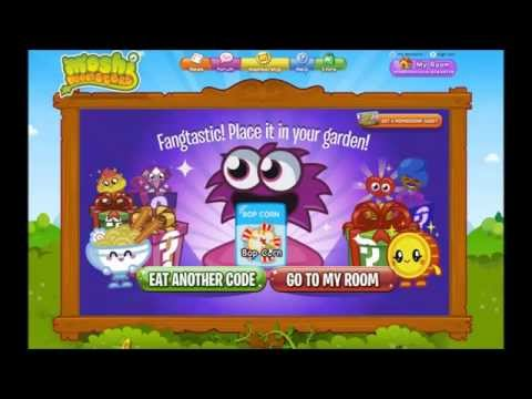 Moshi Monsters Secret Codes July 2014