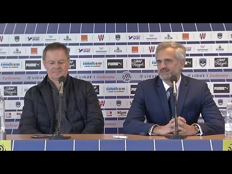 Eric Bedouet et Stéphane Martin face à la presse