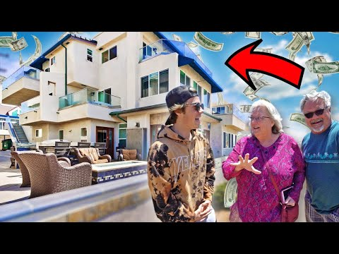 ASKING MANSION OWNERS WHAT THEY DO FOR A LIVING!!!!