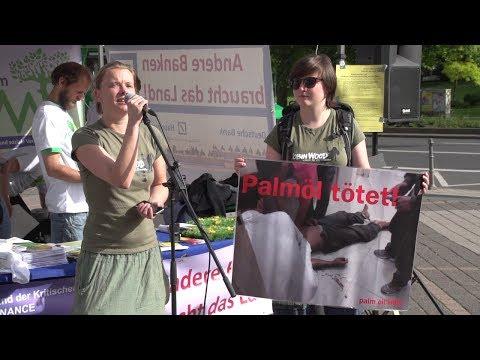 Alle Reden Protest-Aktion zur Deutsche Bank Hauptversammlung Frankfurt 22.05.2014