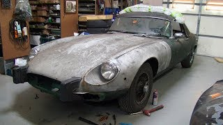 1974 Jaguar XKE V12 E-Type Restoration Project