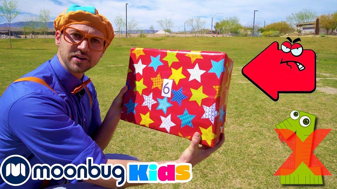 Download Aprende a contar del 1 al 10 con las cajas - Blippi Españo | Aprende Colores y Objetos