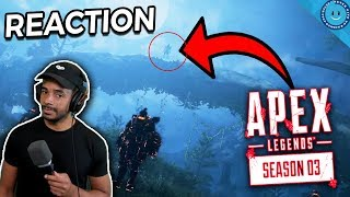 APEX FIGHT OR FRIGHT COLLECTION EVENT TRAILER REACTION! MYSTERIOUS FIGURE'S SECRET PLAN REVEALED!?