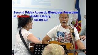 Second Friday Acoustic Bluegrass Jam @ Quitman,TX Library, hosts Delene & Eugene Allen, 08 09 19