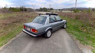 Original 1986 BMW 325e - Tedward POV Test Drive (Binaural Audio)