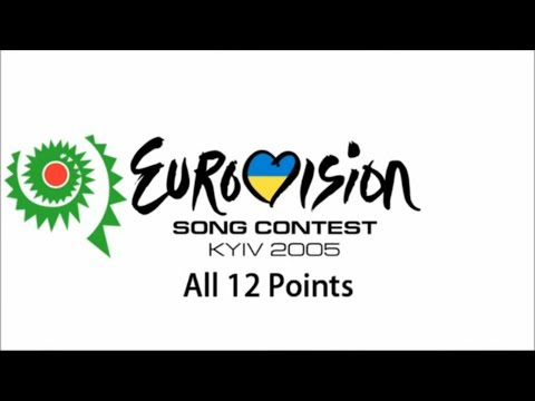 Eurovision 2005 All 12 Points